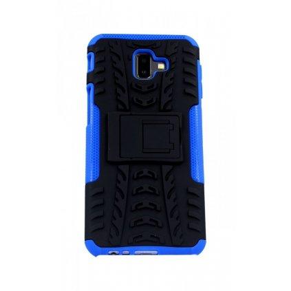 Ultra odolný zadný kryt na Samsung J6 + modrý