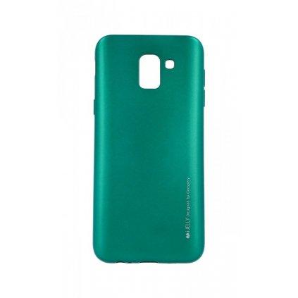Zadný kryt Mercury iJelly Metal na Samsung J6 zelený