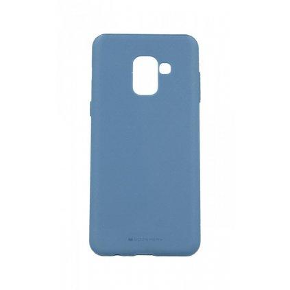 Zadný kryt Mercury Style Lux na Samsung A8 2018 modrý