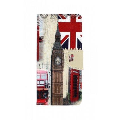 Flipové puzdro na Samsung J6 + Londýn