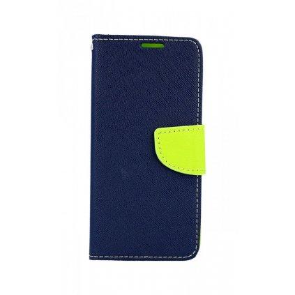 Flipové puzdro na Samsung S10 modré