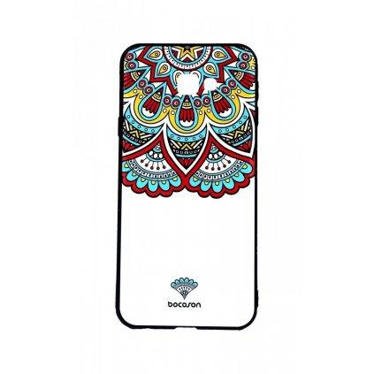 Zadný 3D silikónový kryt na Samsung J4 + Farebný motív