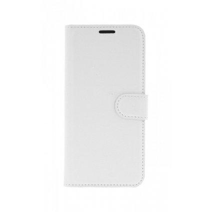 Flipové puzdro na Samsung A6 biele s prackou