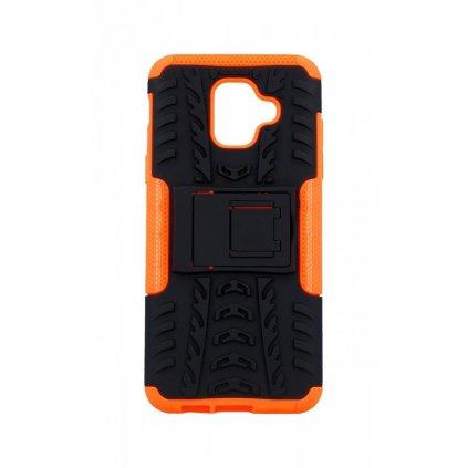 Ultra odolný zadný kryt na Samsung A6 oranžový