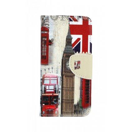 Flipové puzdro na Samsung A8 2018 Londýn