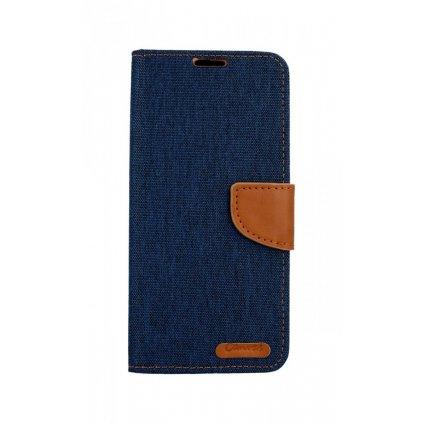Flipové puzdro Canvas na Samsung A9 modré tmavé