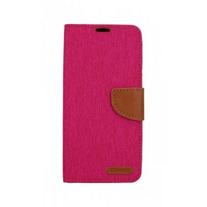 Flipové puzdro Canvas na Samsung A9 ružové