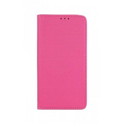 Flipové puzdro Smart Magnet na Samsung J6 + tmavo ružové