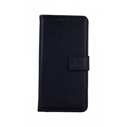 Flipové puzdro na Samsung M20 čierne s prackou 2