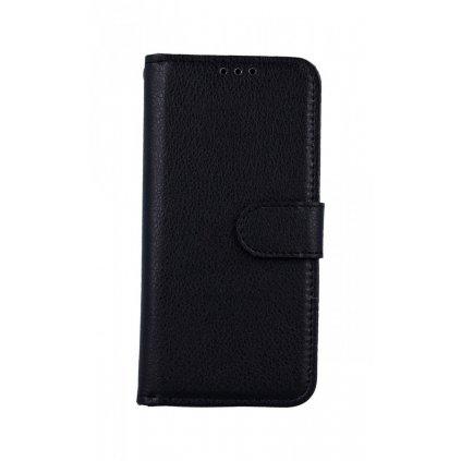 Flipové puzdro na Samsung A40 čierne s prackou