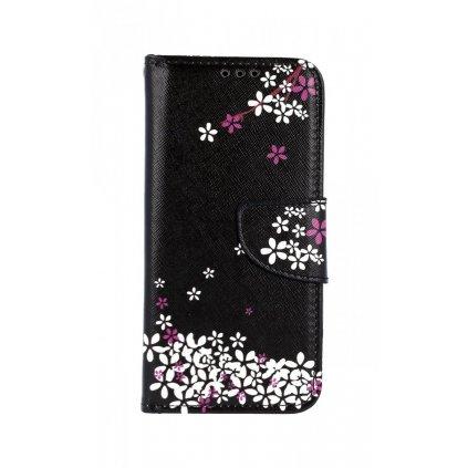 Flipové puzdro na Samsung M20 Kvety sakury