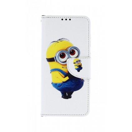 Flipové puzdro na Samsung A50 Minion