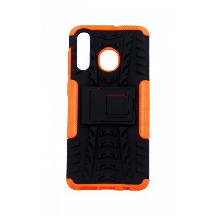 Ultra odolný zadný kryt na Samsung A50 oranžový