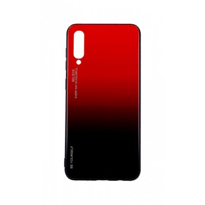 Zadný pevný kryt LUXURY na Samsung A50 dúhový červený