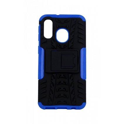 Ultra odolný zadný kryt na Samsung A40 modrý