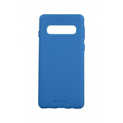 Zadný kryt Mercury Style Lux na Samsung S10 modrý