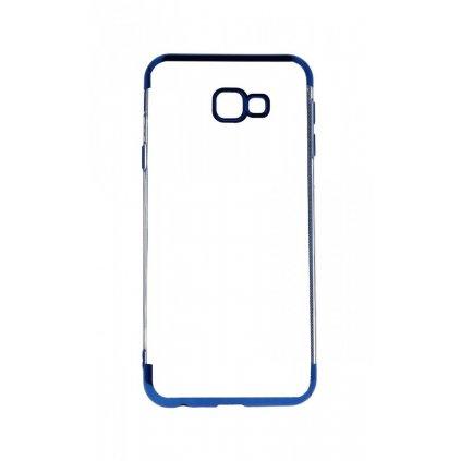 Zadný silikónový kryt na Samsung J4 + Frame modrý