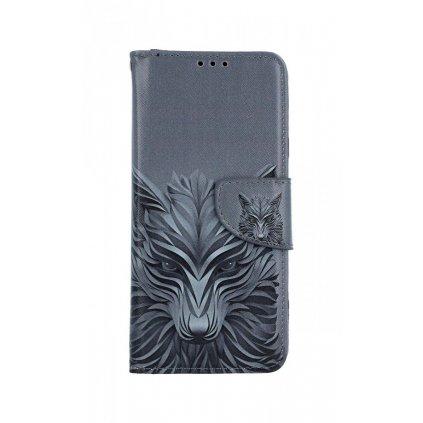 Flipové puzdro na Samsung J4 + Vlk
