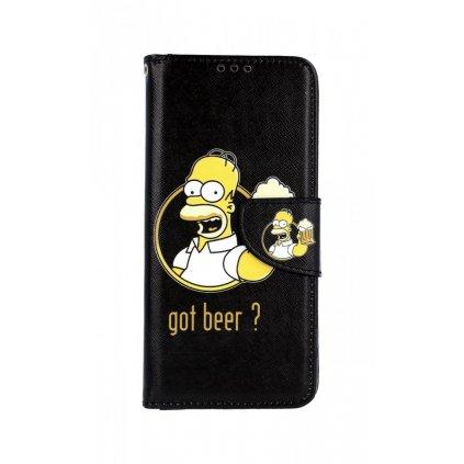 Flipové puzdro na Samsung J4 + Homer