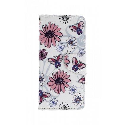 Flipové puzdro na Samsung A7 Flowers