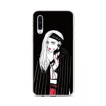 Zadný silikónový kryt na Samsung A50 Dark Girl
