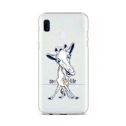 Zadný silikónový kryt na Samsung A20e Zoo Life