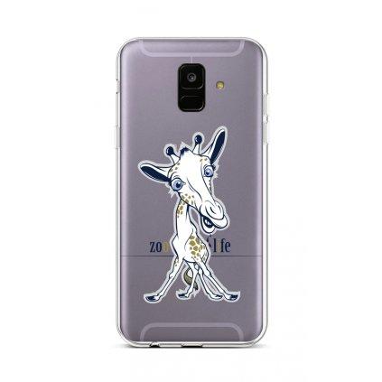 Zadný silikónový kryt na Samsung A6 Zoo Life