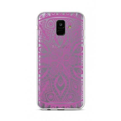 Zadný silikónový kryt na Samsung A6 Violet Mandala