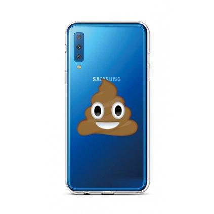 Zadný silikónový kryt na Samsung A7 Poo