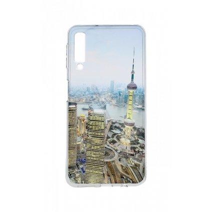 Zadný silikónový kryt na Samsung A7 City