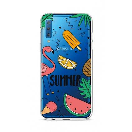 Zadný silikónový kryt na Samsung A7 Summer