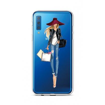 Zadný silikónový kryt na Samsung A7 Lady 2