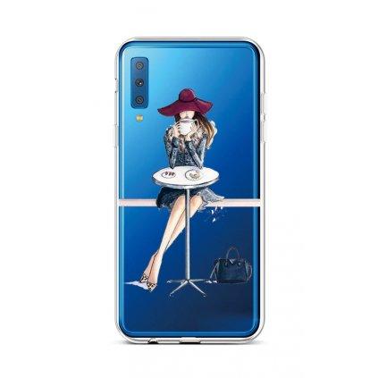 Zadný silikónový kryt na Samsung A7 Lady 6