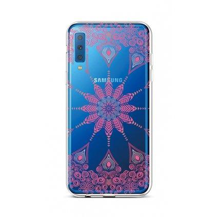 Zadný silikónový kryt na Samsung A7 Pink Mandala