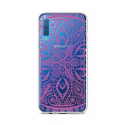 Zadný silikónový kryt na Samsung A7 Violet Mandala