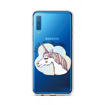 Zadný silikónový kryt na Samsung A7 Dreaming