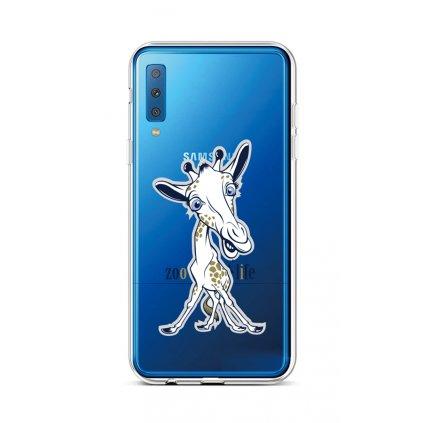 Zadný silikónový kryt na Samsung A7 Zoo Life