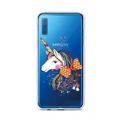 Zadný silikónový kryt na Samsung A7 Totally Uni-que
