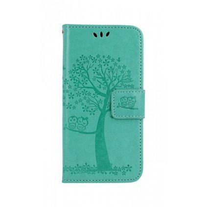 Flipové puzdro na Samsung A20e Zelený strom sovičky