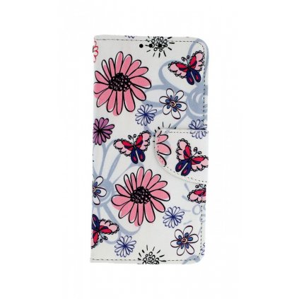 Flipové puzdro na Samsung A20e Flowers