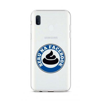 Zadný silikónový kryt na Samsung A20e Facebook