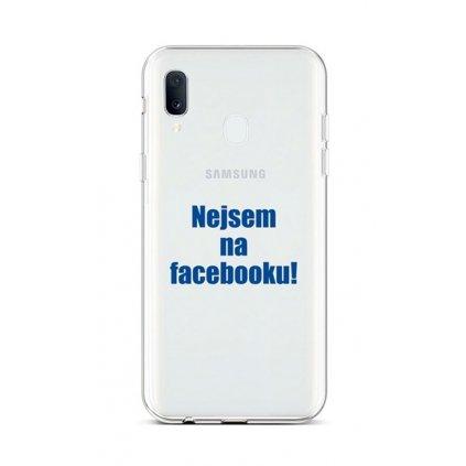 Zadný silikónový kryt na Samsung A20e Nie som na Facebooku