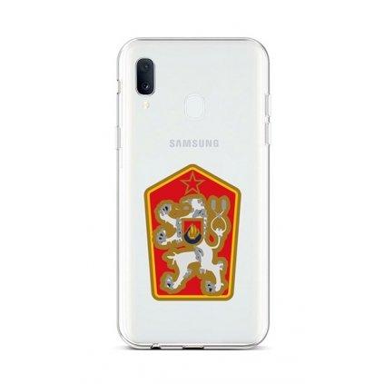 Zadný silikónový kryt na Samsung A20e Štátny znak