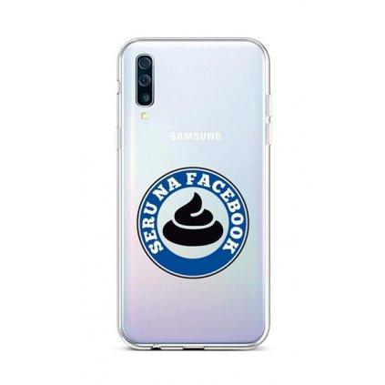 Zadný silikónový kryt na Samsung A50 Facebook