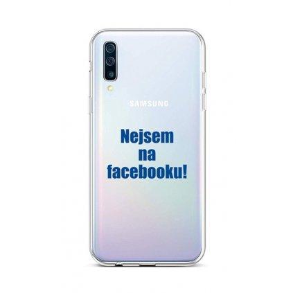 Zadný silikónový kryt na Samsung A50 Nie som na Facebooku
