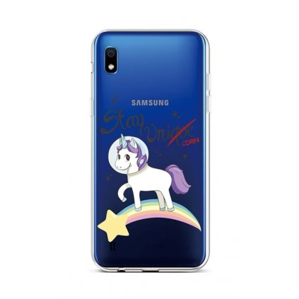 Zadný silikónový kryt na Samsung A10 Stay Unicorn