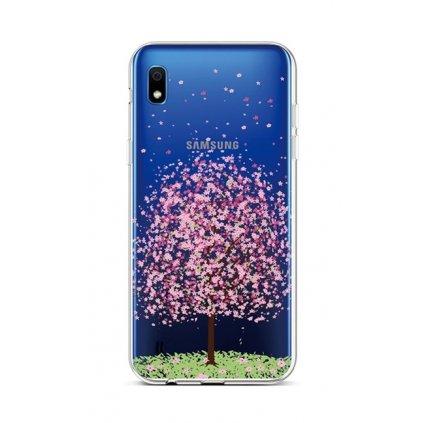 Zadný silikónový kryt na Samsung A10 Blossom Tree