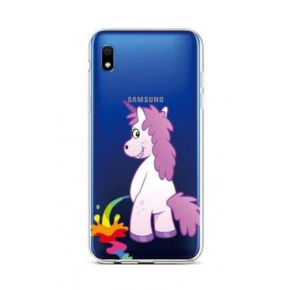 Zadný silikónový kryt na Samsung A10 Rude Unicorn
