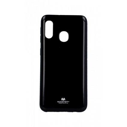 Zadný kryt Mercury Jelly Case na Samsung A20e čierny