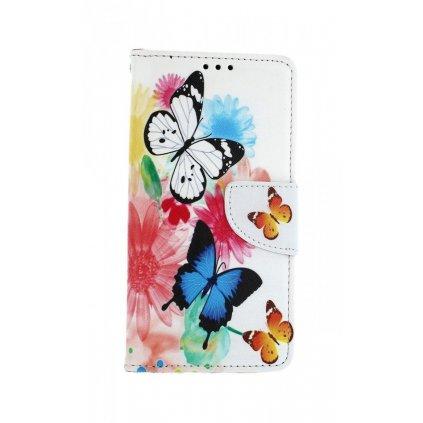 Flipové puzdro na Samsung A10 Farebné s motýlikmi